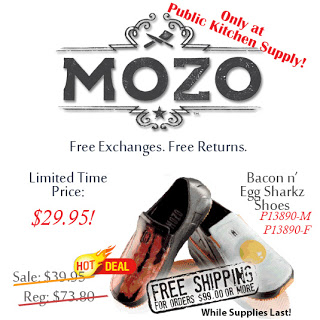 MOZO Bacon and Egg Sharkz Shoes